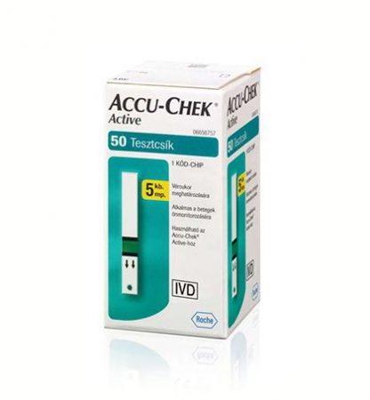 Accu-Chek Active 50 Tesztcsík