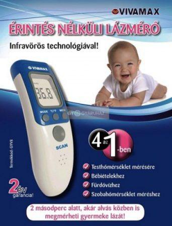 Vivamax Érintés Nélküli Lázmérő Infravörös Technológiával! GYV8