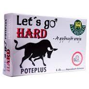 Let's Go Hard növényi komponenseket tartalmazó étrend-kiegészítő kapszula 6 db