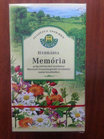 Herbária Memória filteres teakeverék 20 filter