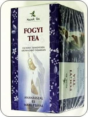 Mecsek Fogyi Tea ananásszal és maté teával Ömlesztett 100 g