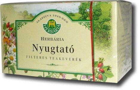 Herbária Nyugtató filteres teakeverék 20 db