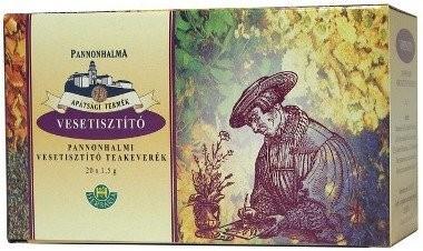 Herbária Pannonhalmi Vesetisztító borítékolt filteres teakeverék 20 db