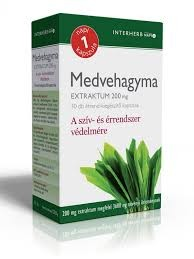 INTERHERB NAPI1 Medvehagyma Extraktum 200mg 30db
