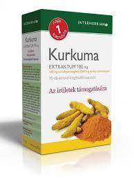 INTERHERB NAPI1 Kurkuma Extraktum 100 mg kapszula 30db